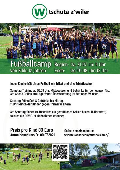 Fußballcamp Weiler